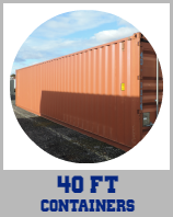 40ft Container Circle Icon