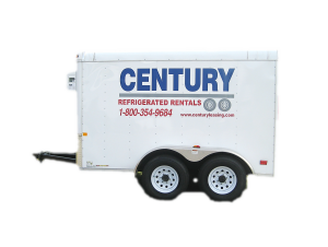 Portable Freezer Trailer Icon