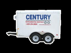 Portable Freezer Trailer Icon