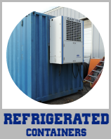 Refrigerated Containers Circle Icon